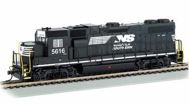 BACHMANN 61716 — Дизель-электрический локомотив GP38-2 (#5616), H0, Norfolk Southern