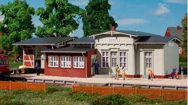 AUHAGEN 11448 — Вокзал железнодорожный «Deinste», 1:87