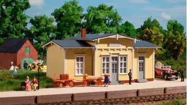 AUHAGEN 11449 — Вокзал железнодорожный «Norgens», 1:87