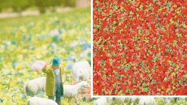 BUSCH 7357 — Цветы летние (пена, 200 мл.), 1:18—1:220