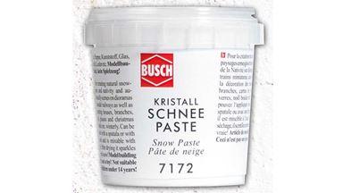 BUSCH 7172 — Кристаллы снега (паста, 150 г), 1:10—1:250