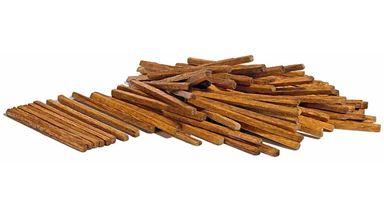 BUSCH 1129 — Шпалы, брус, строевой лес (~42мм, в наборе: 100 шт.), 1:72—1:100