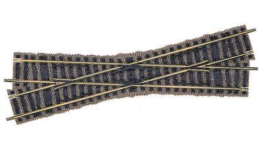 FLEISCHMANN 6162 — Перекрестье рельсовое левое 200мм 18°, PROFI-GLEIS