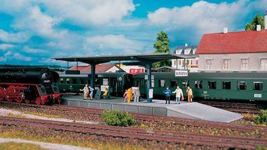 PIKO 61821 — Платформа «Burgstein», 1:87, II
