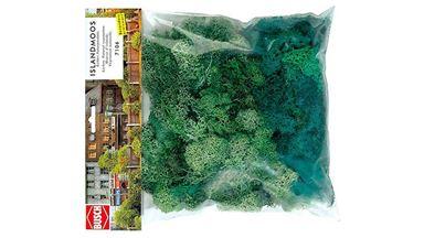 BUSCH 7106 — Мох светло-зеленый (150 гр), 1:43—1:87
