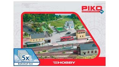 PIKO 61923 — Вокзал «Neustadt» (5 строений), 1:87