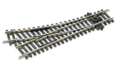 PECO ST-241 — Стрелка прямая левая R=438мм 22,5° (2,5мм), H0