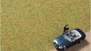 AUHAGEN 75600 — Трава светло-зелёная (флок ~2,5мм, 75 г), 1:18—1:120, Сделано в Германии