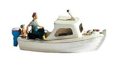 NOCH 16822 — Моторная лодка с фигурами, 1:87