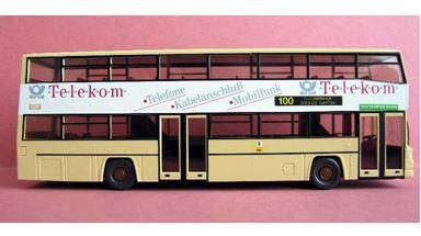 WIKING 07311240 — Городской автобус MAN® SD 202, 1:87