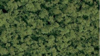AUHAGEN 76659 — Трава светло-зелёная ~400 мл (хлопья пены средние), 1:10—1:250