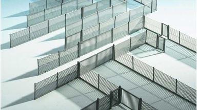 KIBRI 38605 — Забор из металлической сетки (~2800мм), 1:87