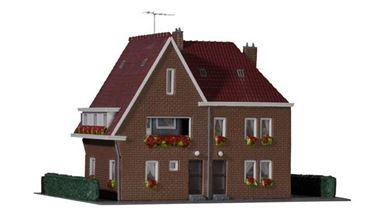 KIBRI 38325 — Жилой дом «Amselweg», 1:87