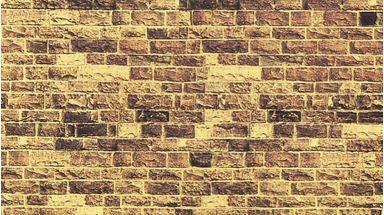 NOCH 57570 — Кладка из песчаника (картон 320×150мм≈0,05м²), 1:72—1:120
