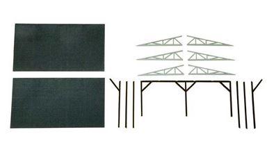 AUHAGEN 80302 — Крыша для грузовых платформ и пандусов, H0