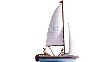 NOCH 16824 — Парусная лодка и 2 фигурки, 1:87