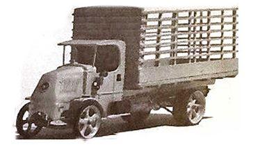 JORDAN 360-209 — Грузовой автомобиль MACK® с высокими бортами (kit), 1:87, 1923