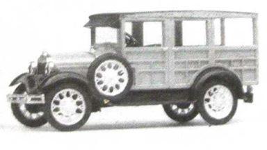 JORDAN 360-217 — Пассажирское такси Ford® Model A (kit), 1:87, 1929