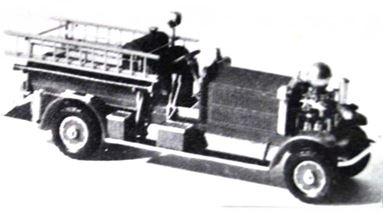 JORDAN 360-221 — Автомобиль пожарной службы AHRENS-FOX® (kit), 1:87, II
