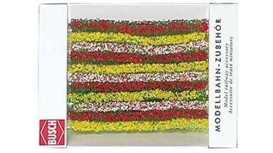 BUSCH 7152 — Живая цветущая изгородь (1050×10мм), 1:87—1:160