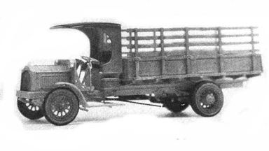 JORDAN 360-231 — Грузовой автомобиль PACKARD® (kit), 1:87, 1922