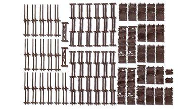 NOCH 13095 — Сельские заборы (53 секции) (2900мм), 1:87–1:160