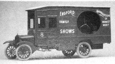 JORDAN 360-233 — Грузовой фургон FORD® model T (kit), 1:87, 1921