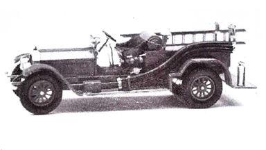 JORDAN 360-237 — Автомобиль пожарной службы LAFRANCE® (kit), 1:87, 1924, США