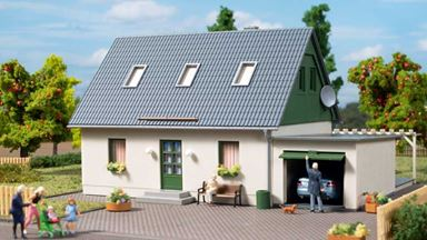 AUHAGEN 11454 — Жилой дом с гаражом, 1:87