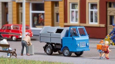 AUHAGEN 41645 — Автомобиль мусоровоз Multicar M22, 1:87, 1964-74