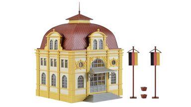 VOLLMER 42004 — Здание посольства (внутреннее освещение в комплекте), 1:87