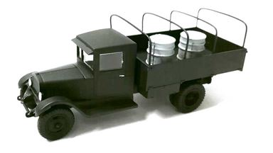 RUSAM-ZIS-5-10-002 — Грузовой автомобиль ЗиС-5 бортовой (в кузове две бочки), 1:87, 1933—1958, СССР