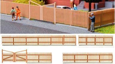 KIBRI 38625 — Деревянный забор (~840мм), 1:87