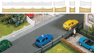 FALLER 180410 — Забор с воротами ~710мм, 1:87, 1921-1945