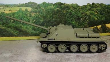 RUSAM-SU-85-00-000 — САУ СУ-85, H0, 1943—1944, СССР