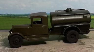 RUSAM-ZIS-5-60-900 — Автоцистерна ЗиС-5, 1:87, 1933—1958, СССР