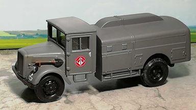 RUSAM-FORD-G917T-65-900 — Автомобиль бензовоз Ford G917T «JG 1», 1:87, II, Wehrmacht