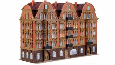 VOLLMER 43775 — Городское здание «Palais», 1:87