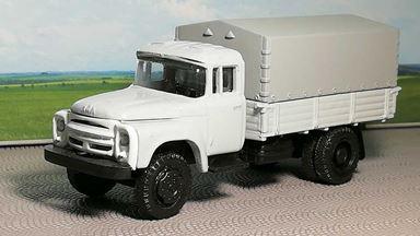 RUSAM-ZIL-130-15-500 — Автомобиль ЗИЛ 130 бортовой крытый (белый), 1:87, 1963—1986, СССР