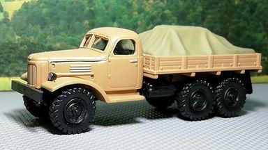 RUSAM-ZIL-157-10-405 — Автомобиль грузовой ЗИЛ 157 бортовой гружёный, 1:87, 1958—1991, СССР