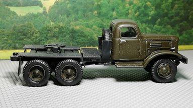 RUSAM-ZIL-157-01-000 — Седельный тягач ЗИЛ 157 (зелёный), 1:87, 1958—1994, СССР