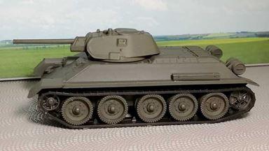 RUSAM-T-34-76-000 — Танк Т-34, 1:87, 1939—1948, СССР