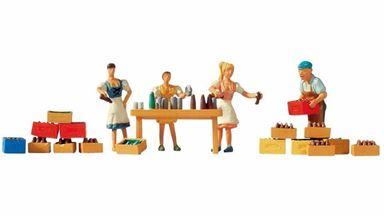 NOCH 15834 — Прилавок продажи разливного пива, 1:87