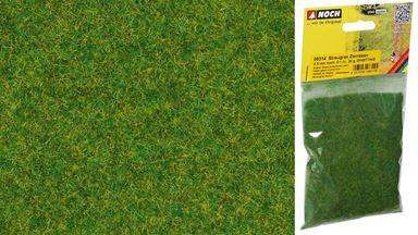 NOCH 08314 — Трава светло-зелёная (флок ~2,5мм, 20 г), 1:18—1:220