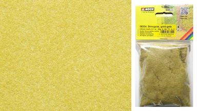 NOCH 08324 — Трава золотистая (сено) (флок ~2,5мм, ~20 г), 1:20—1:250