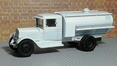 RUSAM-ZIS-5-61-950 — Автоцистерна большая ЗиС-5 (зимний камуфляж), 1:87, 1933—1958, СССР