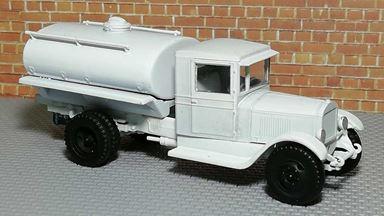 RUSAM-ZIS-5-60-950 — Автоцистерна ЗиС-5 (зимний камуфляж), 1:87, 1933—1958, СССР