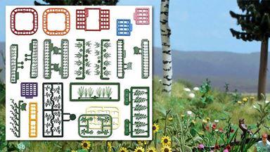 BUSCH 1258 — Цветы и растения, 1:87