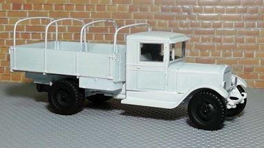 RUSAM-ZIS-5-10-950 — Грузовой автомобиль ЗиС-5 бортовой (зимний камуфляж), 1:87, 1933—1958, СССР