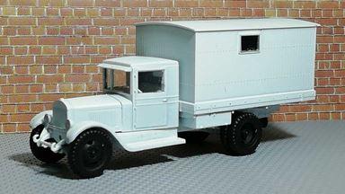 RUSAM-ZIS-5-20-950 — Грузовой автомобиль ЗиС-5 будка, 1:87, 1933—1958, СССР